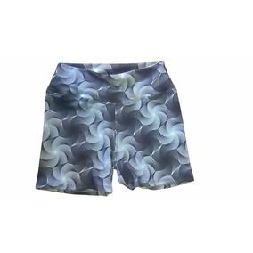 Shorts Estampados De Lycra Mujer Calce Genial X 6 Unidades