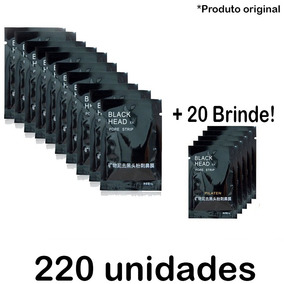 200 + 20 Máscara Pilaten Black Head Pele Cravos Preta Negra