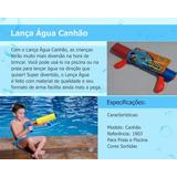 Pistola Água Arminha Canhão Brinquedo Piscina + Brindes
