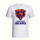 Camisa Futebol Americano Chicago Bears no Mercado Livre Brasil 99cceea9a32b6