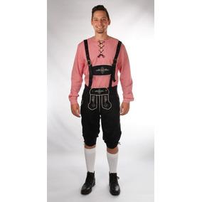 Traje Tipico Alemão (conjunto Jardineira E Camisa)