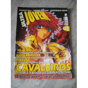 Ultra Jovem Nº 24 - Cavaleiros Zodiacos, Yu-gi-ou, Naruto