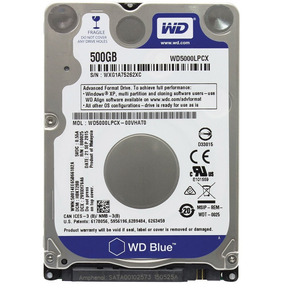 Hd Notebook Western Digital Blue 500gb Sata 3 6gb/s