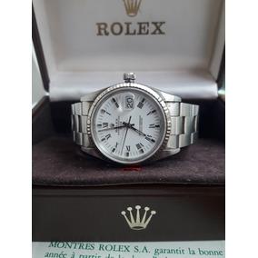 d9ac3a20500 Relógio Rolex Oyster Perpetual Date Certificado