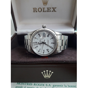 85cfd462e9e Relógio Rolex Oyster Perpetual Date Certificado