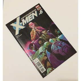 Astonishing X-men (2017 4th Series) #6a Fev/2018 By Marvel