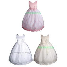 Vestido Elegante Fiesta Niña Talla 4, Amj Dresses, Usa