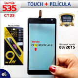 Tela Touch Lumia 535 Rm1092 - Versão Ct2s + Pelicula Vidro