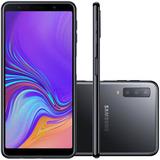 Celular Samsung Galaxy A7 Dual Chip 128gb 4g Tela 6 Preto
