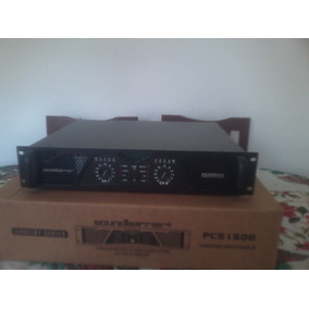 Amplificador Pcs1500 Serie Profesional Soundbarrier