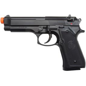 Pistola Airsoft Kwc M92 Modelo Beretta 92 Non Hop Up - Preta