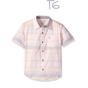 Paquete 3 Camisas Calvin Klein Tommy Hilfiger Casual Niño