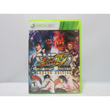 Super Street Fighter 4 - Xbox 360 ¡fisico-usado!