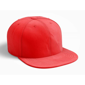 Gorra Plana Snapback - Accesorios de Moda de Hombre Rojo en Mercado ... 096e80b1da2