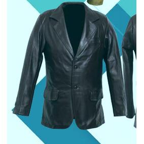 Saco En Piel De Vestir Para Caballero Modelo Blazer