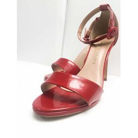 Sandália Di Valentini Verniz Vermelha 38