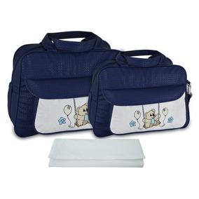 Bolsa De Bebe Azul Marinho Bolsas - Bebês no Mercado Livre Brasil 7674d881ff5