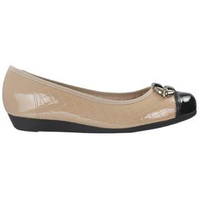 c339aa0f57 Sapatilha Chanel Couro verniz - Sapatos Bege no Mercado Livre Brasil