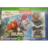 Disney Infinity Toy Box Starter Pack Merida Stitch Xbox One!