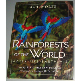 Livro Rainforests Of The World - Water Fire Earth Air