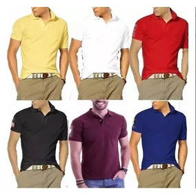 Camisa Tipo Polo Manga Curta Marca British Colony - Calçados 771280c9be4ed