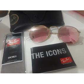 Ray Ban Round Metal Pink - Anteojos de Sol Ray Ban en Mercado Libre ... d405f746b3
