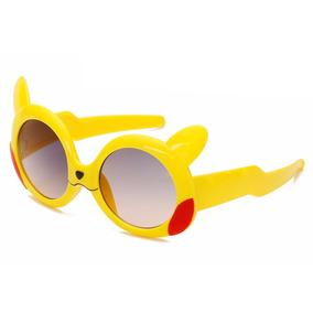 c0f26f7872b53 Óculos Infantil Pikachu Pokémon Proteção Uv Anime Pronta Ent