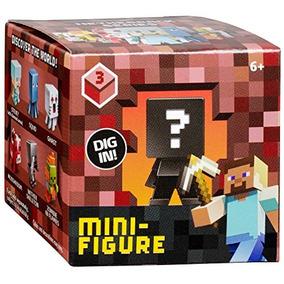 Minecraft Figura Coleccionable Mystery Box Ciegos (los Esti
