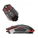 Mouse Gaming Naceb Technology Na-630,usb,gamer,negro Pc,lap