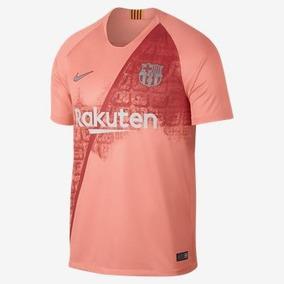 Conjunto Do Barcelona Agasalho Rosa - Roupas de Futebol no Mercado ... cb09fcb3171