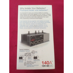 Aislador De Baterías Noco 140a