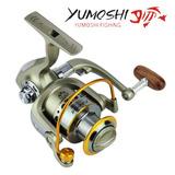 Molinete Pesca Yumoshi 1000 12 Rolamentos 5.5:1