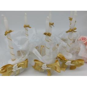 15 Velas Dourada Para Debutantes