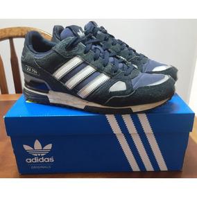buy online 18e55 36802 adidas Zx 750 Azul E Branco Tam 40 ( Original )