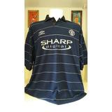 Camisa Futebol Umbro Manchester United Keane b39e40895cfcf