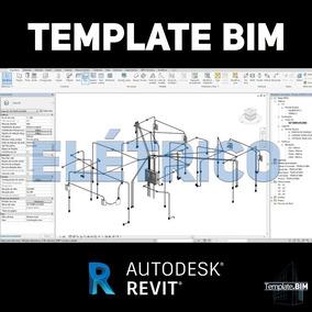 Template Revit Elétrico Projeto Bim + Bônus + Família