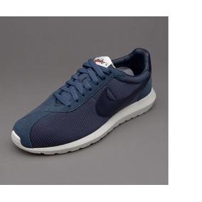 6ade6a0d64fed Tenis Nikes Baratos Para Hombre - Tenis Nike Hombres Azul marino en ...