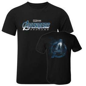 Playera Avengers Endgame Parejas Par Ironman Capitán América