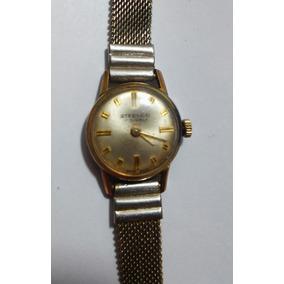 Reloj Antiguo De Dama Steelco 17 Jewels Cuerda