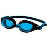 Óculos De Natação Speedo Freestyle 3.0 Preto E Azul