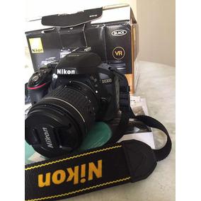 Nikon D5300 Dslr Gps Wi-fi Dx 24.2 Mp Kit 18-55 Mim Full Hd
