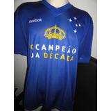 a7ea332f54 Camisa Cruzeiro Amarela 2010 - Futebol no Mercado Livre Brasil