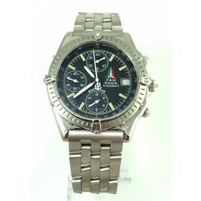Raro Breitling Chronomat Força Italiana Freece Tricolori !