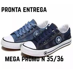 Tênis Jeans Casual Importado Skate 35_36 Pronta Entrega!!!!