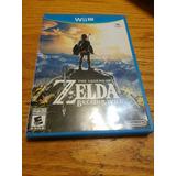 Fisico La Leyenda De Zelda Breath Of The Wild Wii U Nintendo