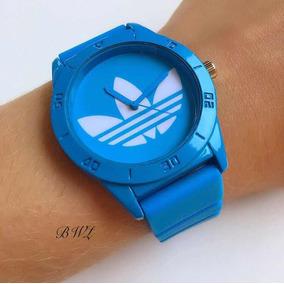 cd4e8312560 Relogio Adidas Santiago Azul - Relógios no Mercado Livre Brasil