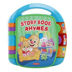 Livro - Aprender E Brincar - Meu Primeiro Livro De Rimas - F