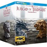 Game Of Thrones 4k Serie Completa  digital Entrega Inmediata