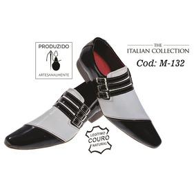 156efa4bf Sapato Social Couro Italiano Sapatos Sociais Masculino - Sapatos Sociais e  Mocassins Preto em Rio Grande do Sul no Mercado Livre Brasil