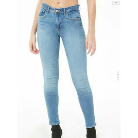 Jeans Kinny Push Up. Forever 21. Nuevo.